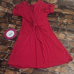 Free People Size Small Hot Pink Mid Maxi